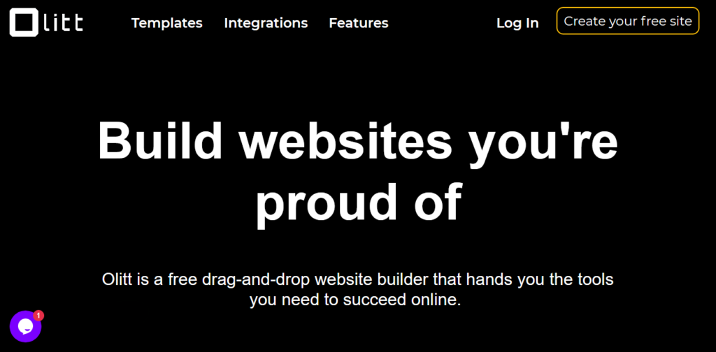 OLITT free website builder in Kenya